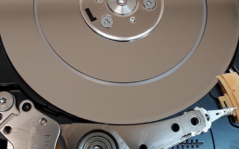 JANDATECH - Technologie odzyskiwania danych, kasowanie i odzyskiwanie danych- Dyski twarde HDD po ingerencji